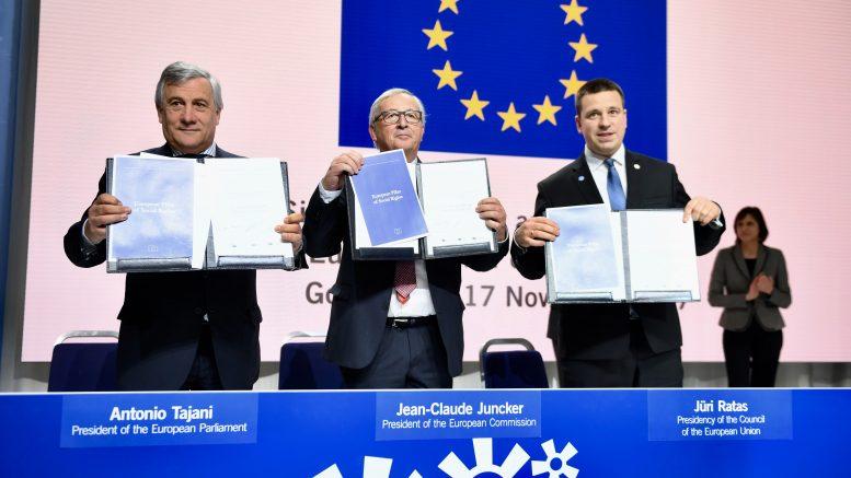 socle social européen